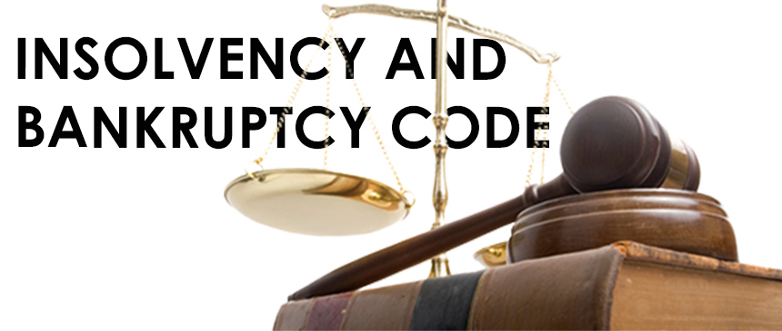 Insolvency and bankruptcy Code Advisory